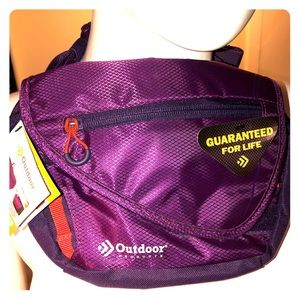 Outdoor Products Purple and Orange Fanny Pack